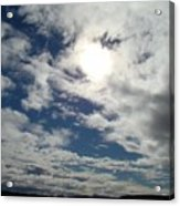 Texas Blue Sky Two Acrylic Print