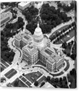 Texas Capitol Bw10 Acrylic Print by Scott Kelley