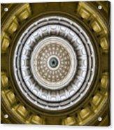 Texas Capitol Dome Acrylic Print