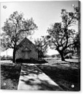 Texas Country Church Acrylic Print
