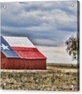 Texas Flag Barn #2 Acrylic Print
