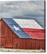 Texas Flag Barn #3 Acrylic Print