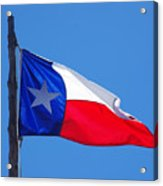 Texas Flag Acrylic Print