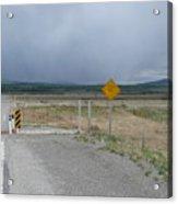 Texas Gate Canadian Rockies Acrylic Print