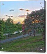 Texas Landscape5 Acrylic Print