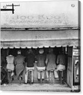 Texas: Luncheonette, 1939 Acrylic Print by Granger