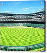 Texas Rangers Ballpark Waiting For Action Acrylic Print