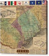 Texas Revolution Acrylic Print