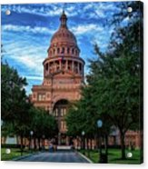 Texas State Capitol Acrylic Print