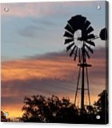 Texas Sunrise Acrylic Print