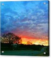 Texas Sunset  Acrylic Print