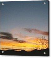 Texas Sunset Two Acrylic Print