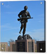 Texas War Memorial Acrylic Print