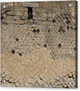 Textural Antiquities Herculaneum Wall One Acrylic Print