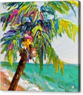 Texture Palm Acrylic Print