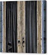 Textured Door Acrylic Print