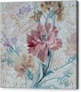 Textured Florals No.1 Acrylic Print