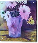Textured Vase Acrylic Print