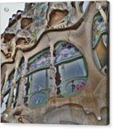 Textures. Gaudi. Modern Style. Acrylic Print