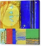 Textures Of A Thurdsay Acrylic Print