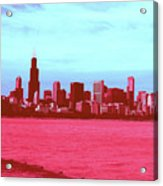 Textures Of Chicago Acrylic Print