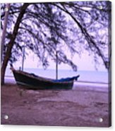 Thai Fishing Boat 04 Acrylic Print