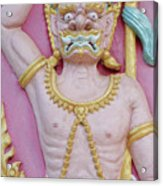 Thai Temple Art I Acrylic Print