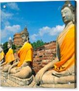 Thailand, Ayathaya Acrylic Print