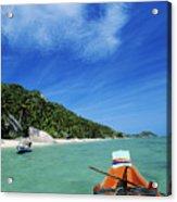 Thailand Boat Acrylic Print