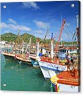 Thailand, Koh Phangan Acrylic Print