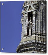 Thailand Temple Architecture Acrylic Print