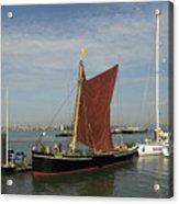 Thames Sailing Barge 'alice' Acrylic Print