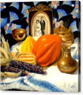 Thanksgiving Of The Past Acrylic Print