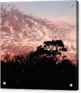 Thanksgiving Sky Acrylic Print