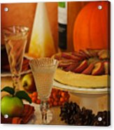 Thanksgiving Table Acrylic Print
