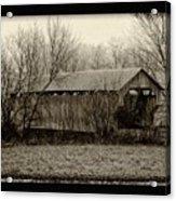 That Old Covered Bridge Acrylic Print