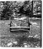 That Weird Bench One Acrylic Print