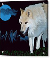 That Wolf Acrylic Print