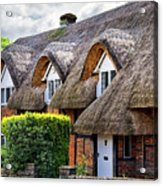Thatched Cottages In Chawton 2 Acrylic Print