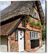 Thatched Cottages In Chawton 4 Acrylic Print