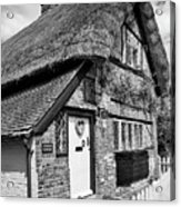 Thatched Cottages In Chawton 5 Acrylic Print