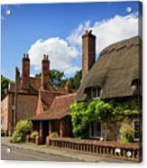 Thatched Cottages In Chawton 6 Acrylic Print