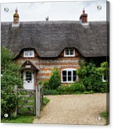 Thatched Cottages Of Hampshire 11 Acrylic Print