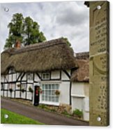 Thatched Cottages Of Hampshire 12 Acrylic Print