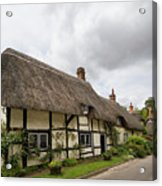 Thatched Cottages Of Hampshire 14 Acrylic Print
