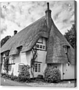 Thatched Cottages Of Hampshire 17 Acrylic Print