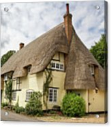 Thatched Cottages Of Hampshire 18 Acrylic Print