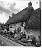 Thatched Cottages Of Hampshire 22 Acrylic Print
