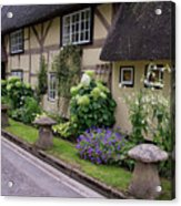 Thatched Cottages Of Hampshire 24 Acrylic Print