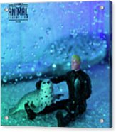 The 1-18 Animal Rescue Team - Seal In Shower Acrylic Print